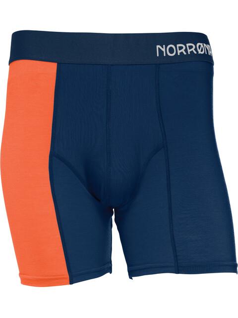 Norrøna M's Wool Boxer Indigo Night/Scarlet Ibis